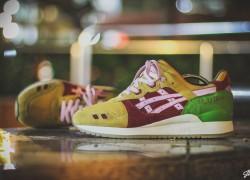 Asics Gel Lyte III 'Burger' Customs by Jon Timbre