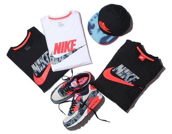 atmos x Nike Bleached Denim Pack