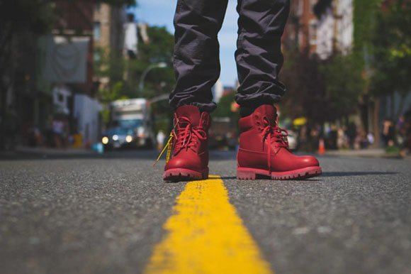 Bee Line x Timberland Red Boot (Pharrell)