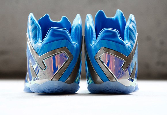 Blue 3M Nike LeBron 11 Elite