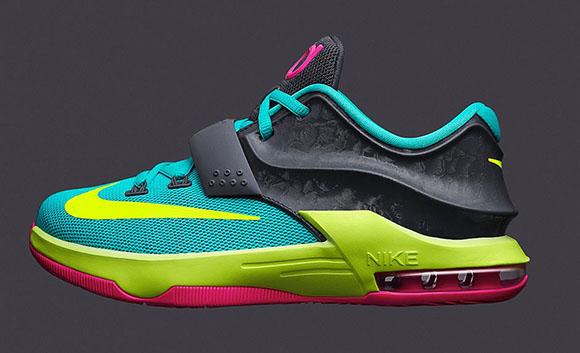 Carnival Nike KD 7 GS