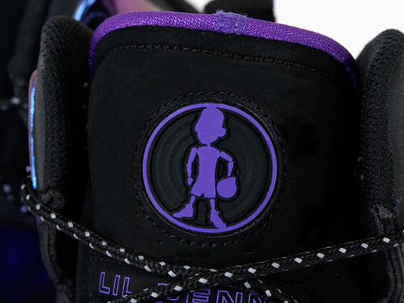 Eggplant Nike Lil Penny Posite