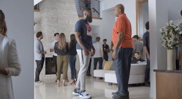 James Harden, Charles Barkley Scottie Pippen in Short Memory Part 1 Commercial by Foot Locker