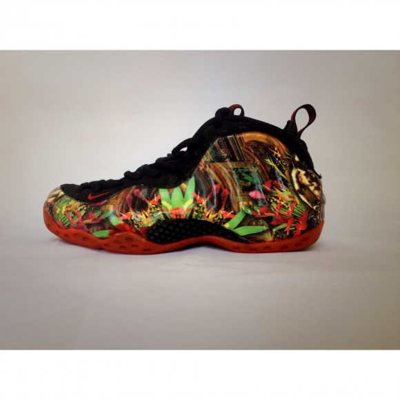 Nike Air Foamposite One 'Givenchy' Customs by FBCC NYC