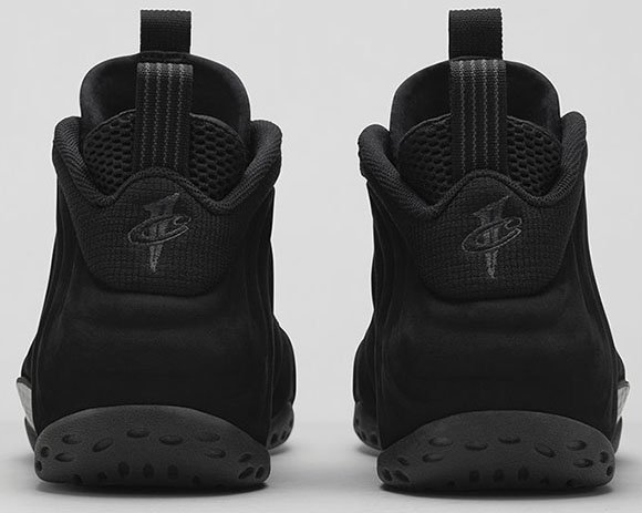 Nike Air Foamposite One Suede aka Triple Black - Official Images