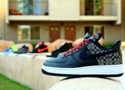 Nike Air Force 1 'Coach Force 1′ Customs by Groundbreaker Customs