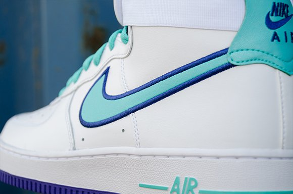 Nike Air Flight 89 White Dark Concord Hyper Jade