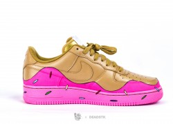 Nike Air Force 1 Low 'GUDbite' Customs by Com'N GUD x Deadstk