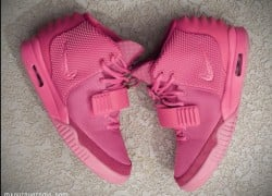 Nike Air Yeezy 2 Pink Customs by Mache Custom Kicks