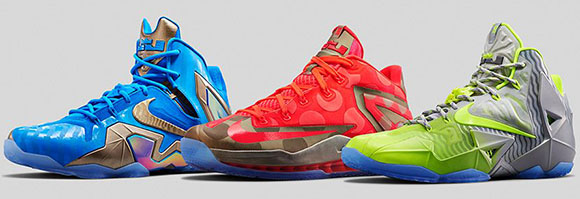 Nike LeBron 11 Maison Collection - Official Images