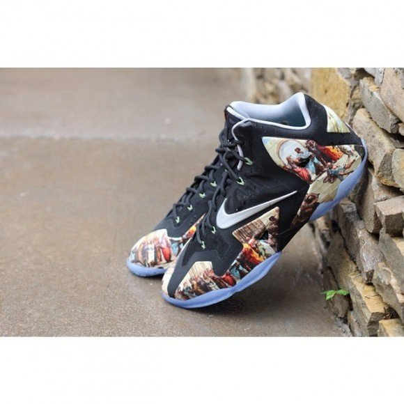nike-lebron-11-renaissance-customs-by-amac-customs