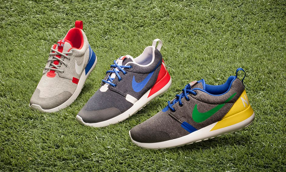 98b85a0647d Nike Roshe Run GS  Country Flag  Pack