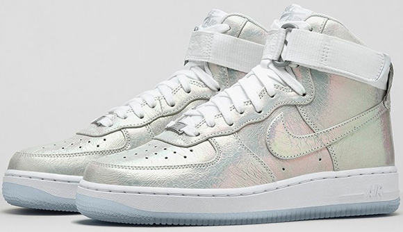 Nike Womens Air Force 1 Iridescent Pearl Collection