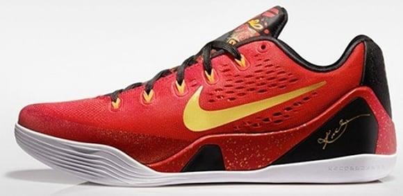 Release Date: Nike Kobe 9 EM 'China'