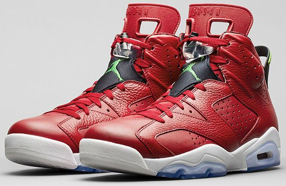 Release Reminder: Air Jordan 6 Varsity Red