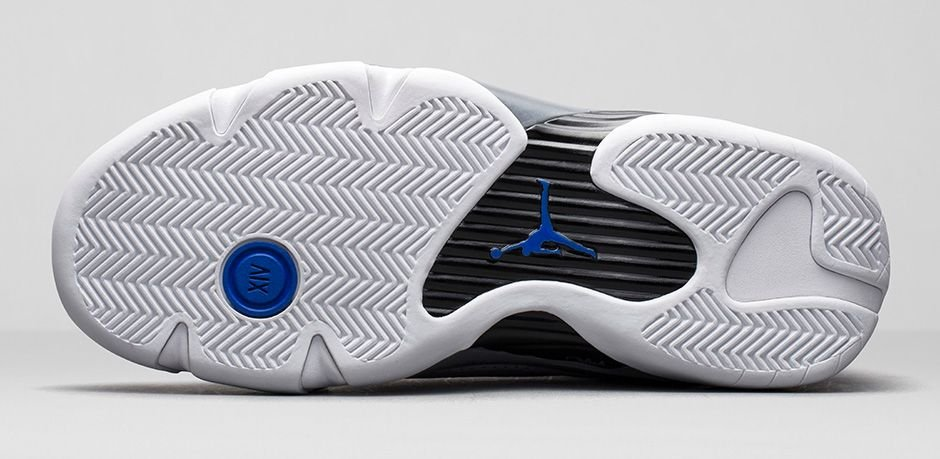 Release Reminder: Air Jordan XIV (14) 'Wolf Grey/White-Sport Blue'