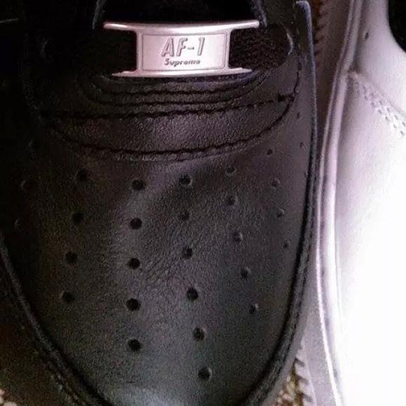 Supreme x Nike Air Force 1 High - Black