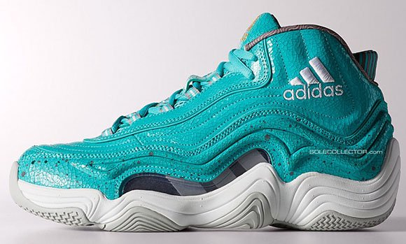 Teal adidas Crazy 2 - Detailed Look