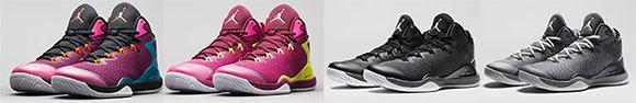 4 Pairs of Jordan Super Fly 3 Releasing October 1st