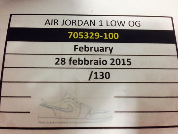 Air Jordan 1 Retro Low OG for 2015
