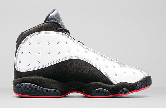 Air Jordan 13 Reflective Silver - Official Images