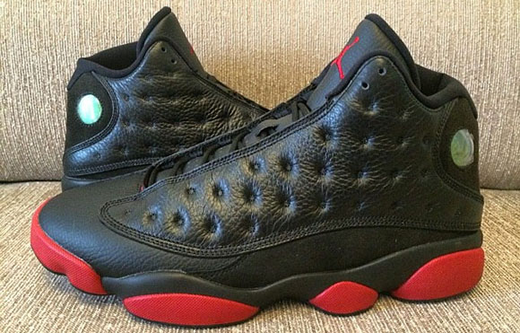 Air Jordan 13 (XIII) Bred (Black/Red) - Another Look