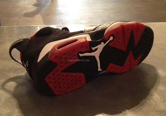 Air Jordan 6 Unreleased Sample from 2010 (60/40)