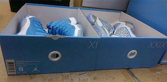 Actual Picture of the Air Jordan XX9 apart of the Ultimate Gift Of Flight Pack