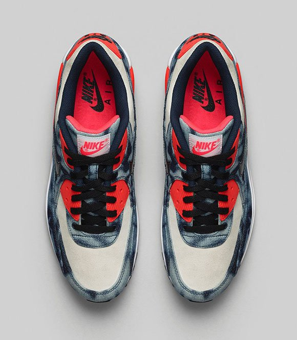 Bleached Denim Nike Air Max 90 QS - Official Images