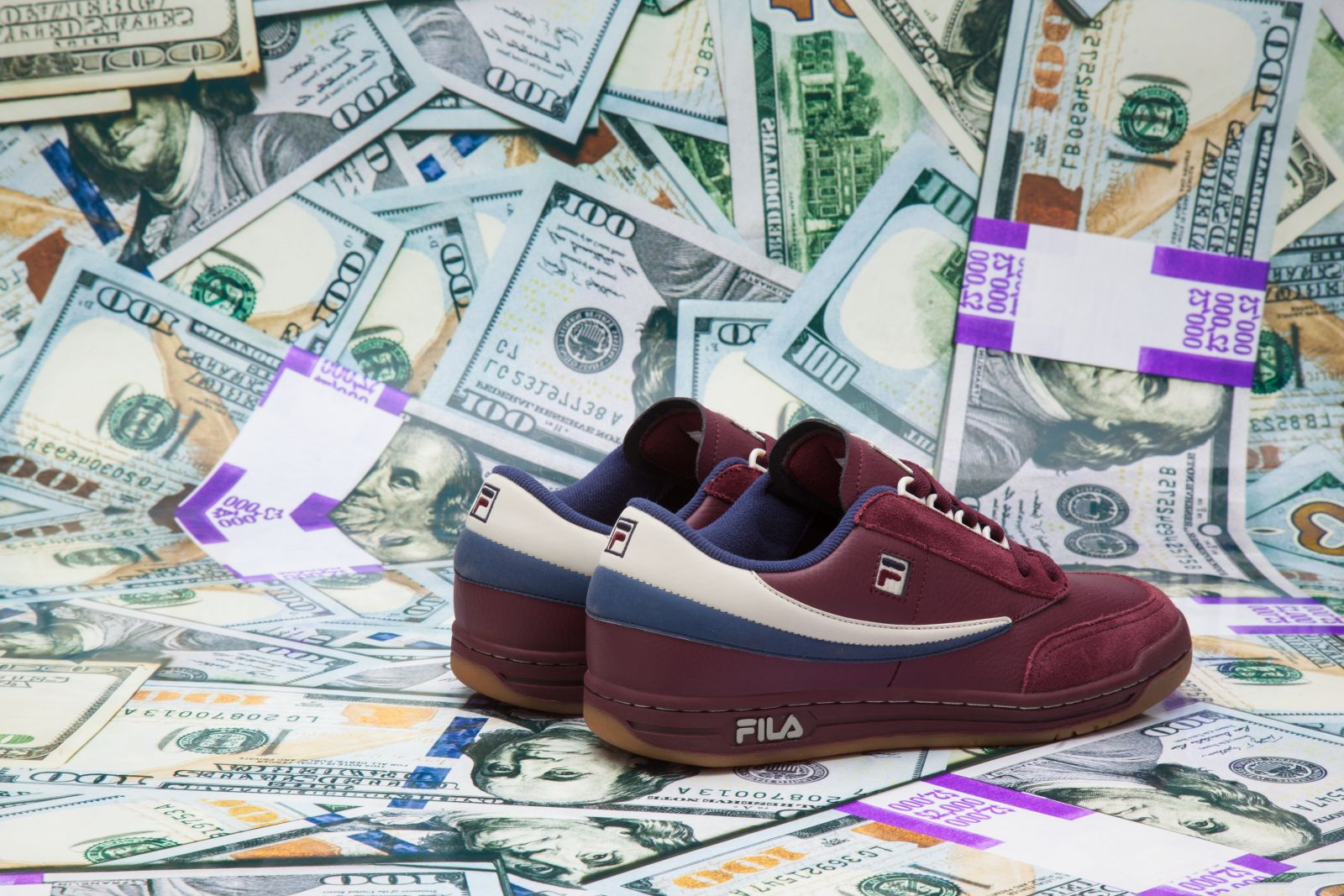 Burn Rubber x Fila Original Tennis Doughboy