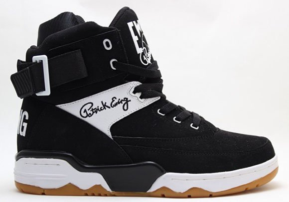 Ewing 33 Hi - Black/White/Gum