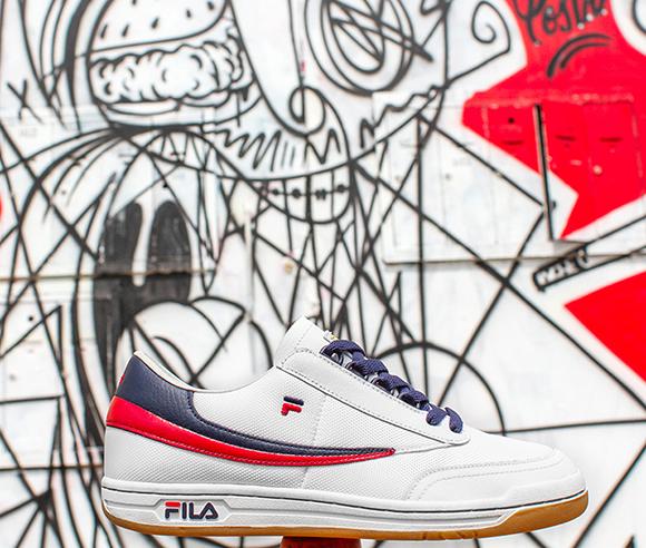 Fila Original Tennis + Original Fitness Combine for the NYC Slam Pack
