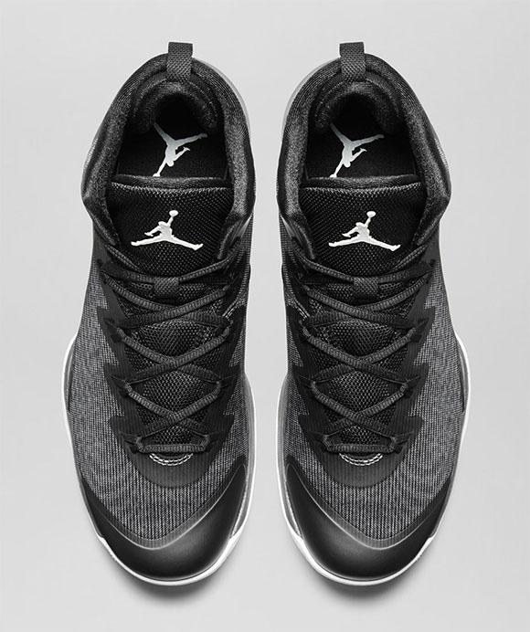 Jordan Super.Fly 3 Black/White-Dark Grey