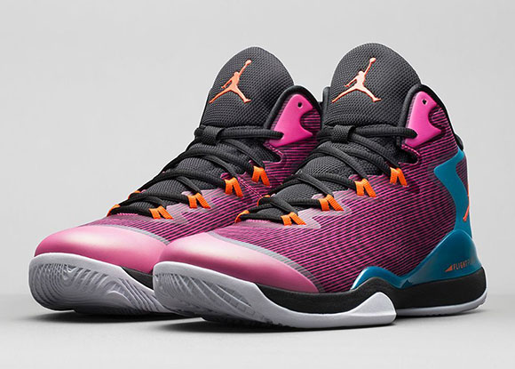Jordan Super.Fly 3 Fusion Pink/Tropical Teal-Electro Orange-Black
