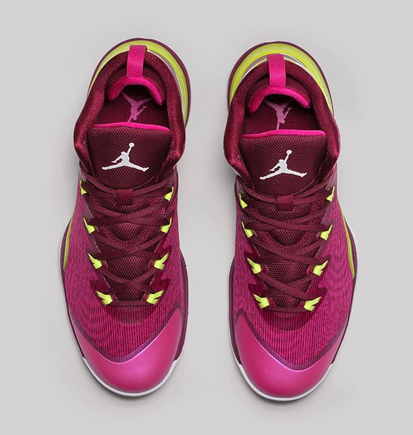 Jordan Super.Fly 3 Fusion Pink/Volt-Deep Garnet