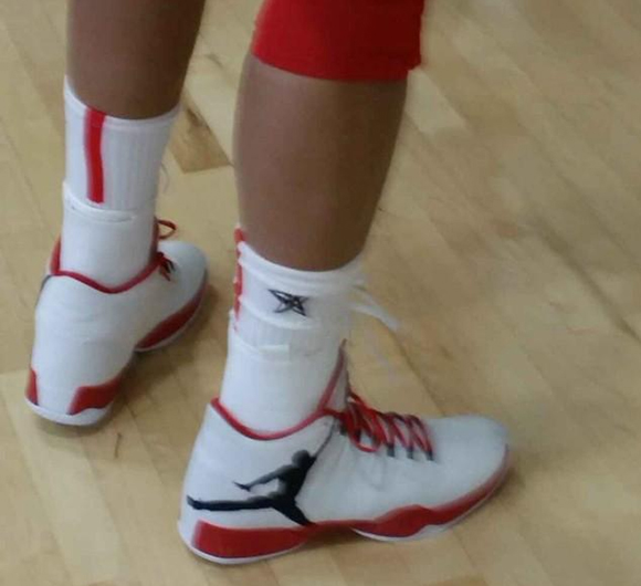 Maya Moore wears USA Air Jordan XX9