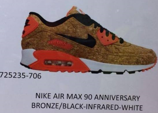 Nike Air Max 90 25th Anniversary - Cork