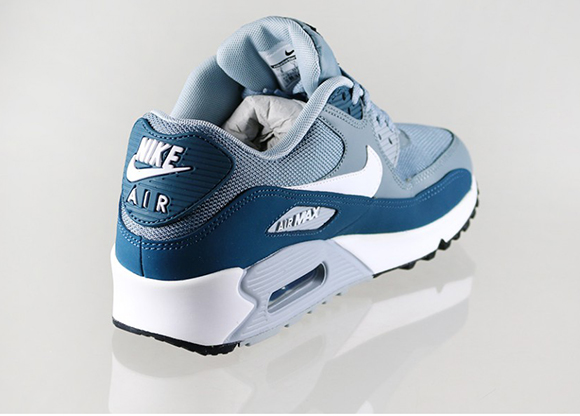 Nike Air Max 90 Essential - Aviator Grey/White-Space Blue