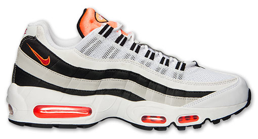 Nike Air Max 95 Light Base Grey/Hyper Crimson