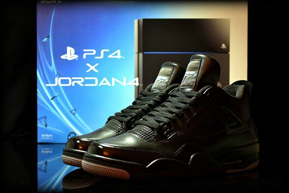 Playstation Air jordan 4 is a Custom by Freaker Sneaks (Not Releasing)