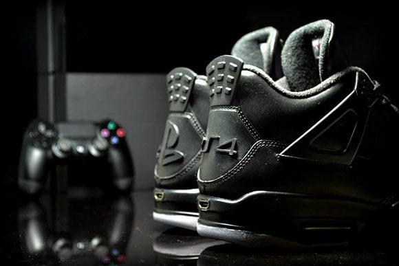 Playstation Air jordan 4 is a Custom by Freaker Sneaks (Not Releasing)