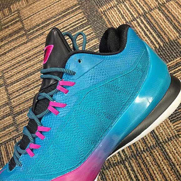 Teal/Pink Jordan CP3.VIII