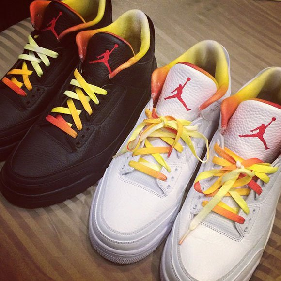 Two More Air Jordan 3 Drake vs. Lil Wayne