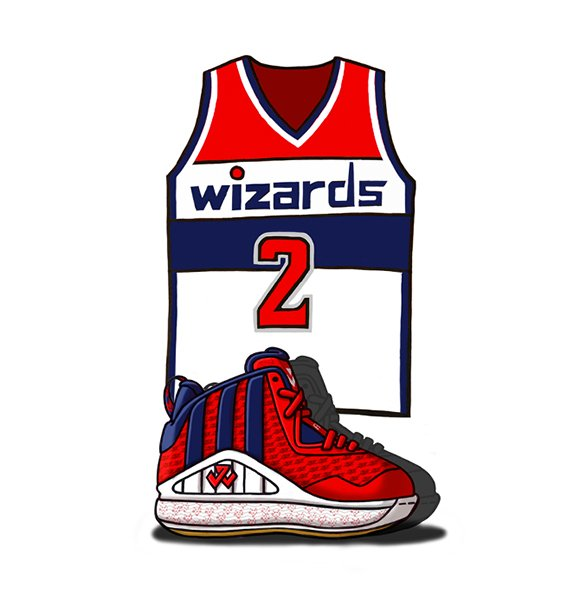 adidas J Wall 1 Illustrated