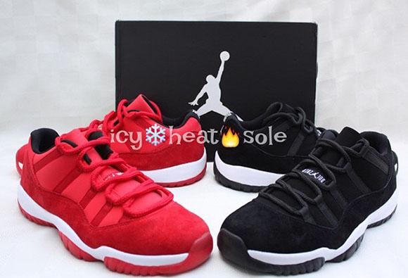 Air Jordan 11 Low Black Suede - Another Look