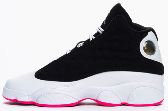 Air Jordan 13 GS Black/Hyper Pink-White