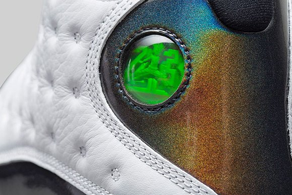 Air Jordan 13 Hologram (Wolf Grey) - Official Images