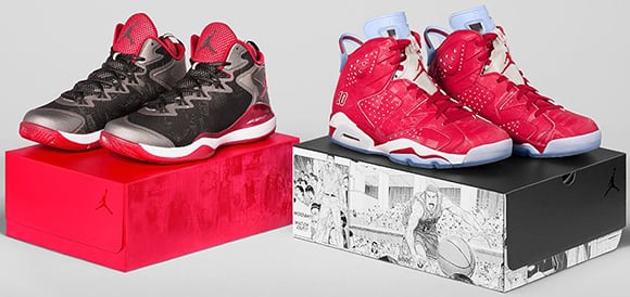 Air Jordan 6 Jordan Super.Fly 3 Slam Dunk Pack - Official Images
