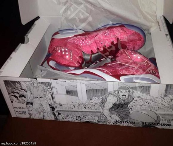 Air Jordan 6 Slam Dunk Packaging
