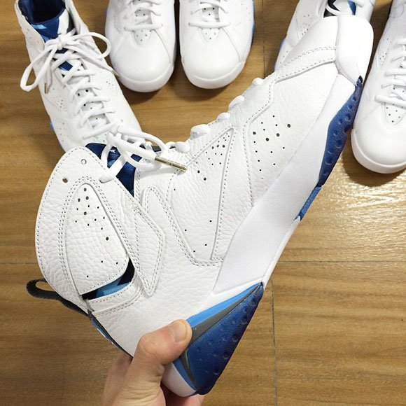 Air Jordan 7 French Blue 2015 - Detailed Look
